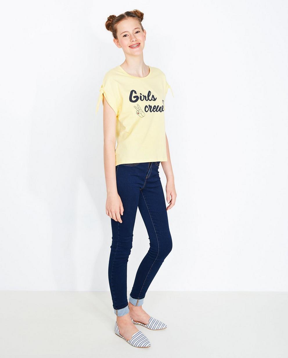T-shirt à nœuds papillons - bleu ciel - Groggy